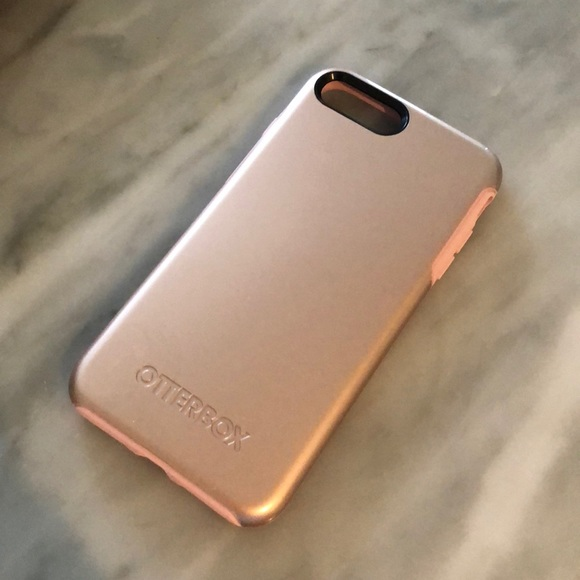 on sale b1e37 e210d iPhone 8 Plus rose gold otter box case